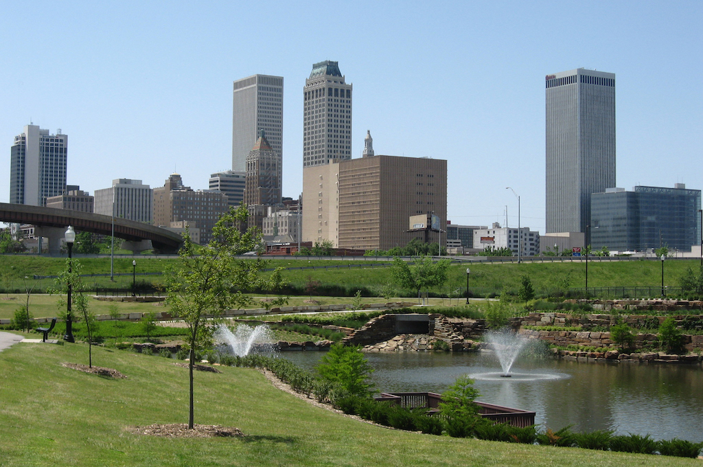 Commercial Cleaning Tulsa | Multi-Clean - Tulsa Skyline